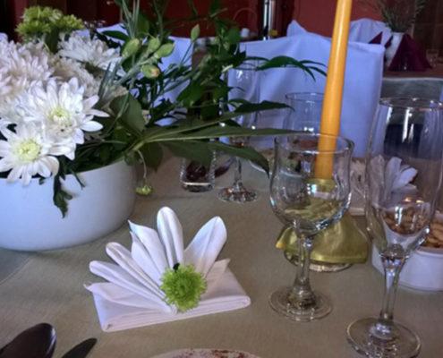 Romantyczne spotkania przy świecach