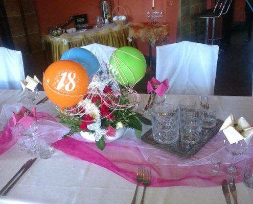 Impreza urodzinowa z okazji 18stki
